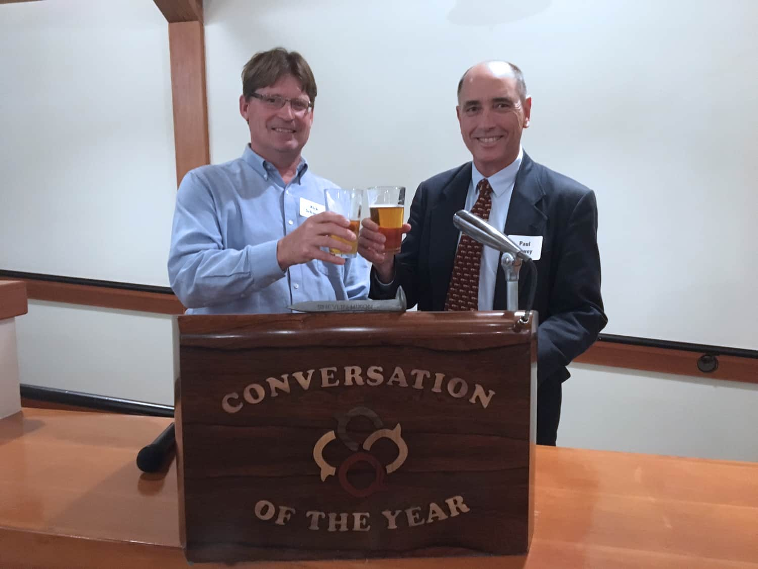 City Club of Announces Winner of Conversation of the Year Award